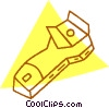 Vector Clipart graphic  of a paint scraper