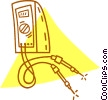 Vector Clipart graphic  of a electronics tester