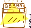 car battery Vector Clip Art picture