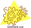 gears Vector Clip Art picture