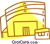 Vector Clipart picture  of a stadium