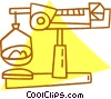 Vector Clipart illustration  of a scale