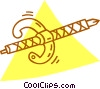 Vector Clip Art graphic  of a dagger