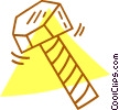 Vector Clip Art picture  of a bolt