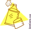 spray can Vector Clipart picture