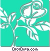 Vector Clip Art graphic  of a plants