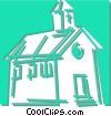 church Vector Clipart illustration