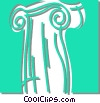 Vector Clipart picture  of a column
