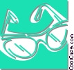 glasses Vector Clipart illustration