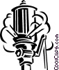 Vector Clipart image  of a work whistle