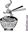 Chinese noodles Vector Clipart picture