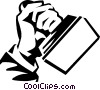 Vector Clipart graphic  of a rubber stamp