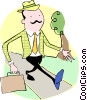 Vector Clip Art picture  of a Businessmen
