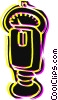 Vector Clipart image  of a parking meter