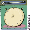 alarm clock Vector Clip Art picture