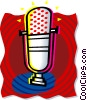 microphone Vector Clipart graphic