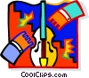 violin Vector Clipart graphic
