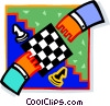 Vector Clipart illustration  of a chess