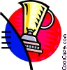 Vector Clipart image  of a electric blender