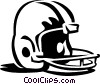 football helmet Vector Clipart picture