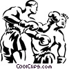 Vector Clipart graphic  of a boxers