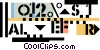 investment/stock market Vector Clip Art picture