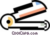 stapler Vector Clipart graphic