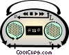 Vector Clipart illustration  of a mini system