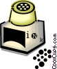 Vector Clip Art picture  of a ink bottle