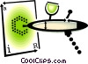 Vector Clip Art picture  of an airbrush