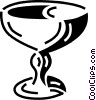 Vector Clipart graphic  of a wine glass
