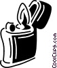 lighter Vector Clip Art picture
