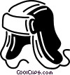 Vector Clipart picture  of a winter hat