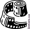 Vector Clipart illustration  of a film
