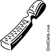 Vector Clip Art picture  of a file