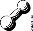 weights Vector Clip Art graphic