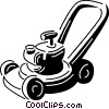 lawnmower Vector Clip Art picture