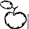 apple Vector Clipart graphic
