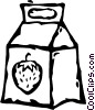 Vector Clipart picture  of a juice