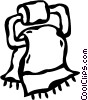hand towel Vector Clipart picture
