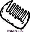 Vector Clipart graphic  of a comb