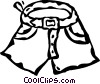 shorts Vector Clipart picture