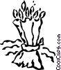 Vector Clipart picture  of a wheat