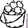 apples Vector Clip Art graphic