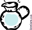 Vector Clip Art graphic  of a water jug