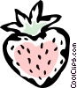 Vector Clipart graphic  of a strawberry
