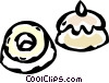 Vector Clipart graphic  of a dessert