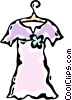 Vector Clipart illustration  of a dress