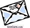 envelopes Vector Clipart graphic