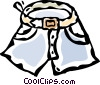 Vector Clipart graphic  of a shorts